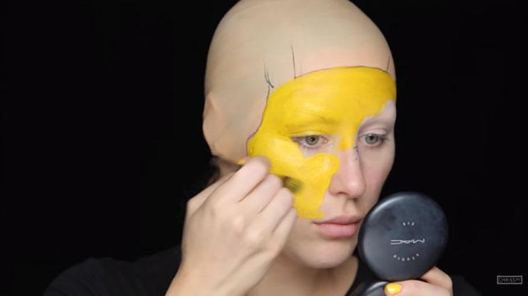 Mira cómo esta mujer se transforma en Pikachu en unoWs simples pasos 2