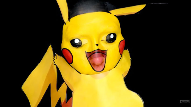 Mira cómo esta mujer se transforma en Pikachu en unos simples pasos 5