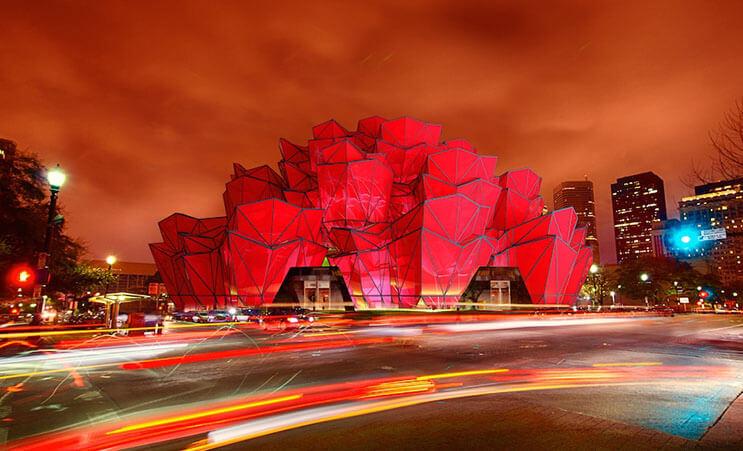 Multimillonario ruso construye edificio en forma de rosa 4