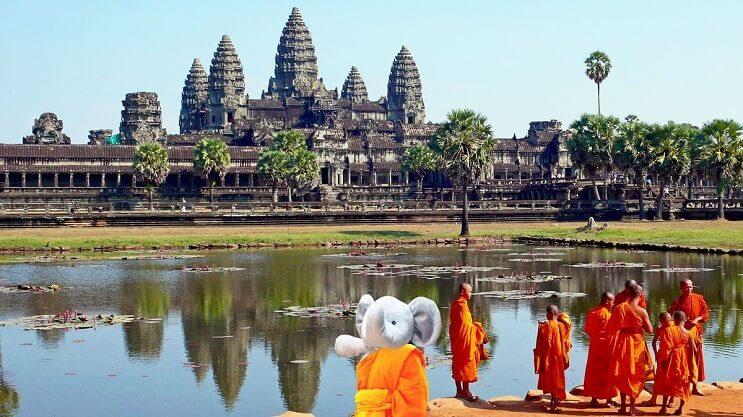 Niño pierde su elefante de peluche y lo photoshoppers deciden despedirlo con un viaje alrededor del mundo 13