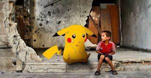 Niños sirios piden ayuda a los fanáticos de Pokémon GO