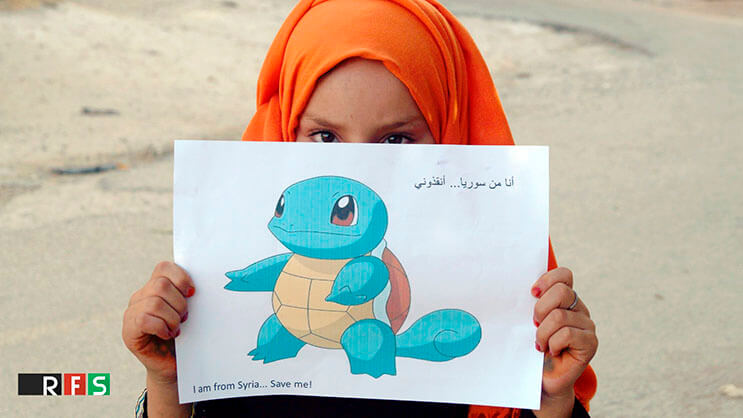 Niños sirios piden ayuda a los fanáticos de Pokémon GO3