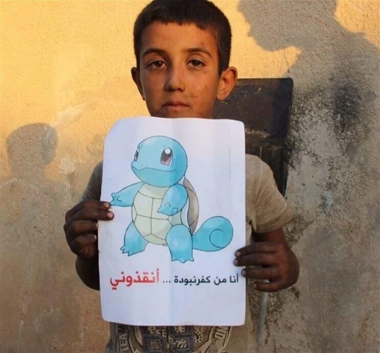 Niños sirios piden ayuda a los fanáticos de Pokémon GO5