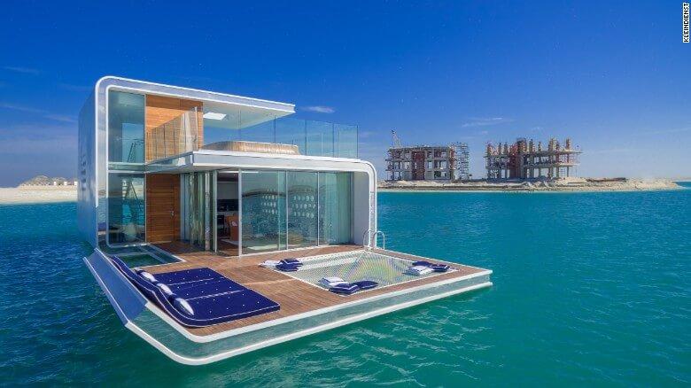 Nuevas construcciones de casas flotantes te inducirán directo a la vida marina 02