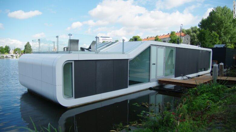 Nuevas construcciones de casas flotantes te inducirán directo a la vida marina 05