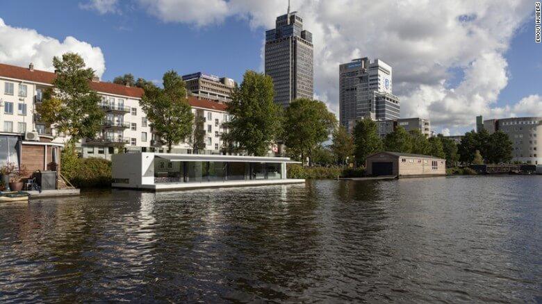 Nuevas construcciones de casas flotantes te inducirán directo a la vida marina 06
