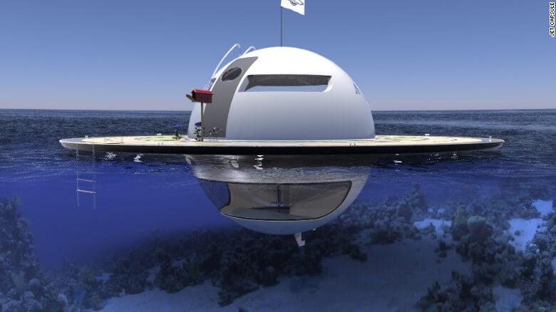 Nuevas construcciones de casas flotantes te inducirán directo a la vida marina 07