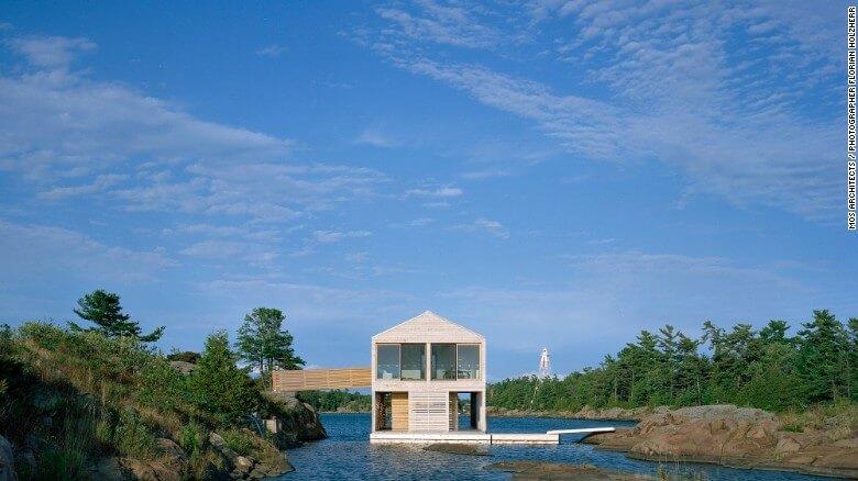 Nuevas construcciones de casas flotantes te inducirán directo a la vida marina 11