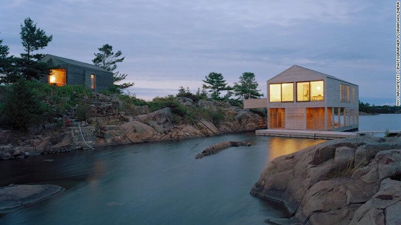 Nuevas construcciones de casas flotantes te inducirán directo a la vida marina 12