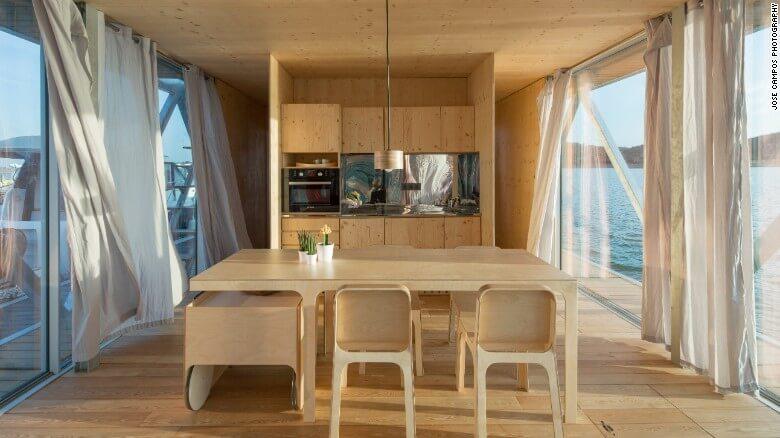 Nuevas construcciones de casas flotantes te inducirán directo a la vida marina 13
