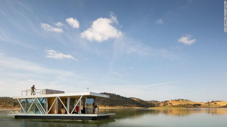 Nuevas construcciones de casas flotantes te inducirán directo a la vida marina 14