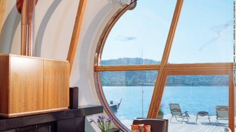 Nuevas construcciones de casas flotantes te inducirán directo a la vida marina 15