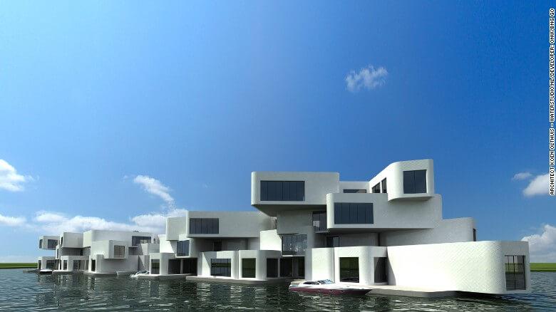 Nuevas construcciones de casas flotantes te inducirán directo a la vida marina 18
