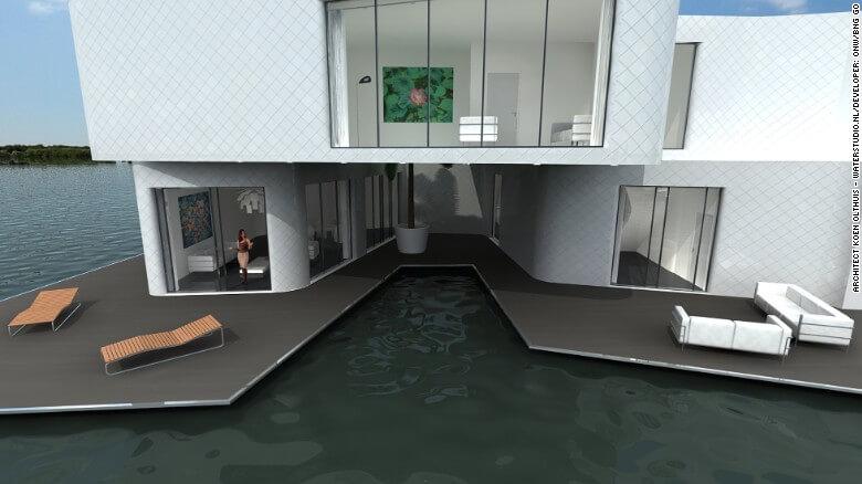 Nuevas construcciones de casas flotantes te inducirán directo a la vida marina 19