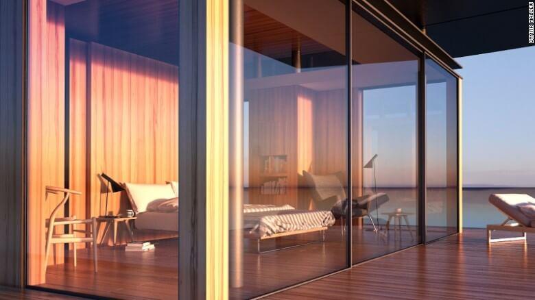 Nuevas construcciones de casas flotantes te inducirán directo a la vida marina 21
