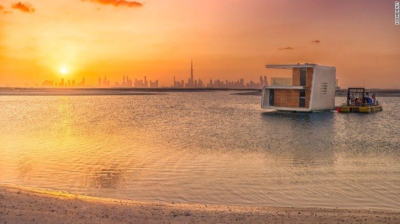 Nuevas construcciones de casas flotantes te inducirán directo a la vida marina 23