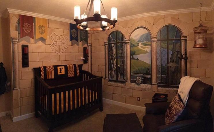 Padres construyen un cuarto de Harry Potter para su pequeño mago 007