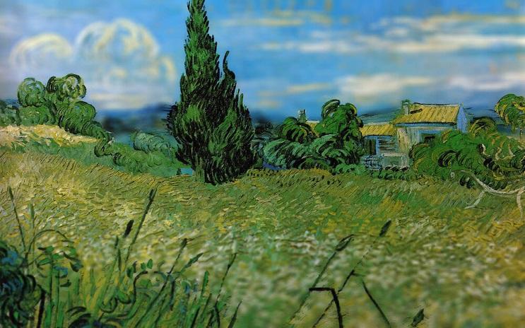 Photoshop ataca Aplican desenfoque a las obras de Van Gogh y el resultado es increíble 01