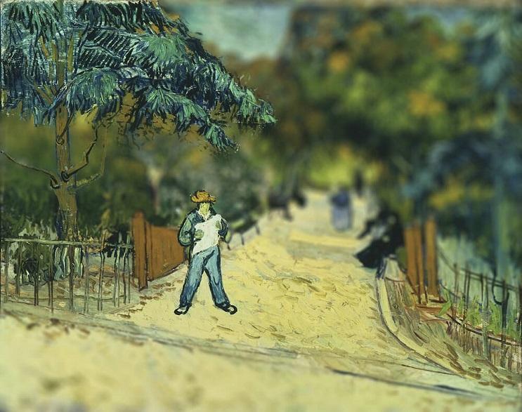 Photoshop ataca Aplican desenfoque a las obras de Van Gogh y el resultado es increíble 02
