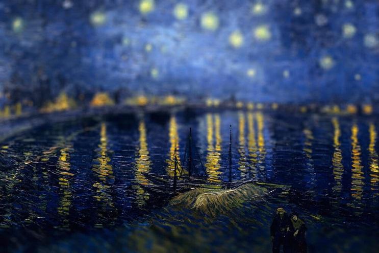 Photoshop ataca Aplican desenfoque a las obras de Van Gogh y el resultado es increíble 07