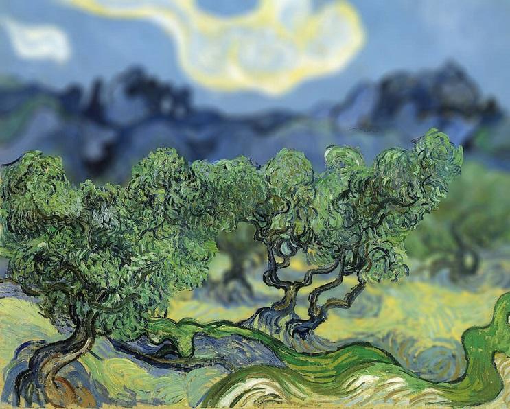 Photoshop ataca Aplican desenfoque a las obras de Van Gogh y el resultado es increíble 09