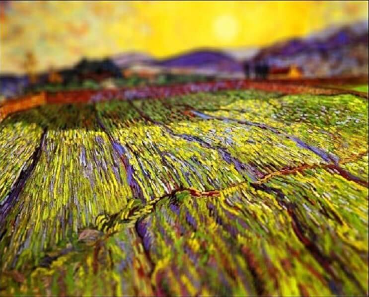 Photoshop ataca Aplican desenfoque a las obras de Van Gogh y el resultado es increíble 10