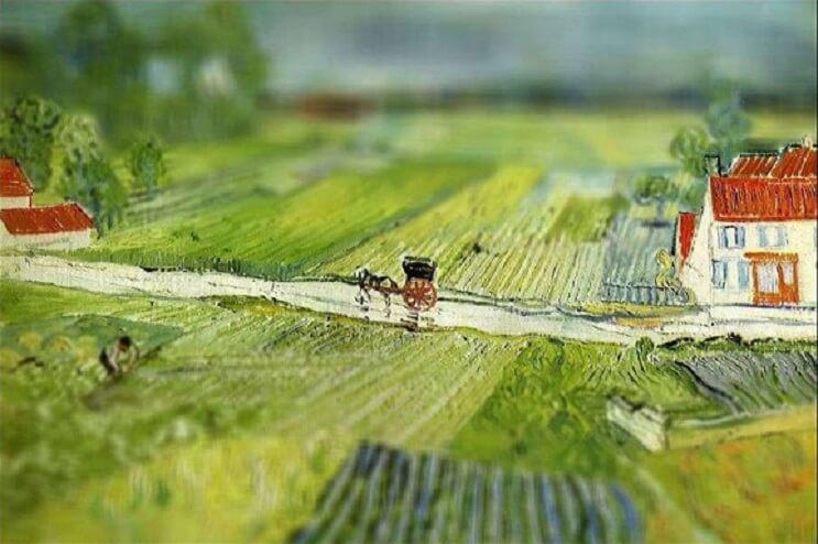 Photoshop ataca Aplican desenfoque a las obras de Van Gogh y el resultado es increíble 11