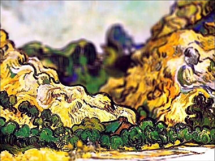 Photoshop ataca Aplican desenfoque a las obras de Van Gogh y el resultado es increíble 12