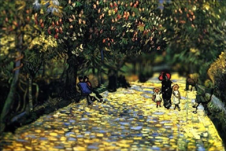 Photoshop ataca Aplican desenfoque a las obras de Van Gogh y el resultado es increíble 14