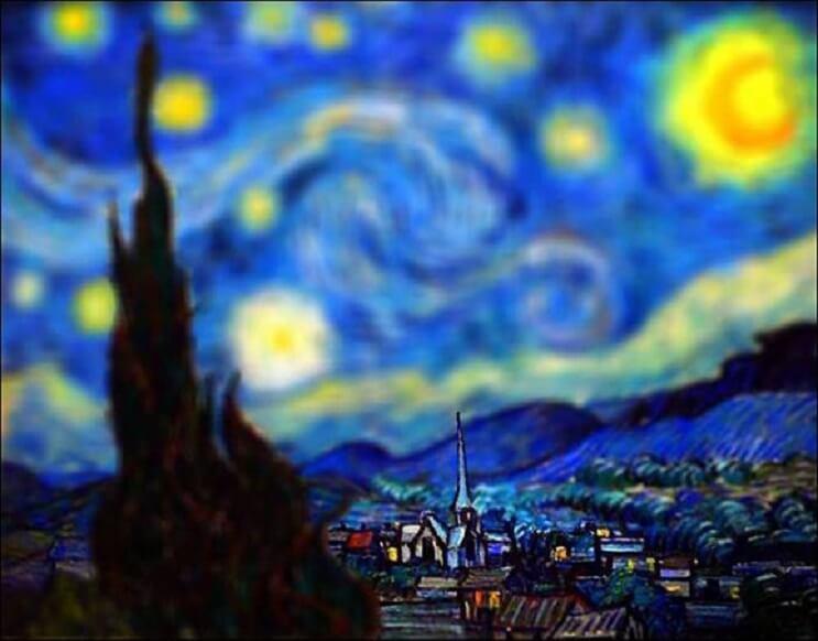 Photoshop ataca Aplican desenfoque a las obras de Van Gogh y el resultado es increíble 15