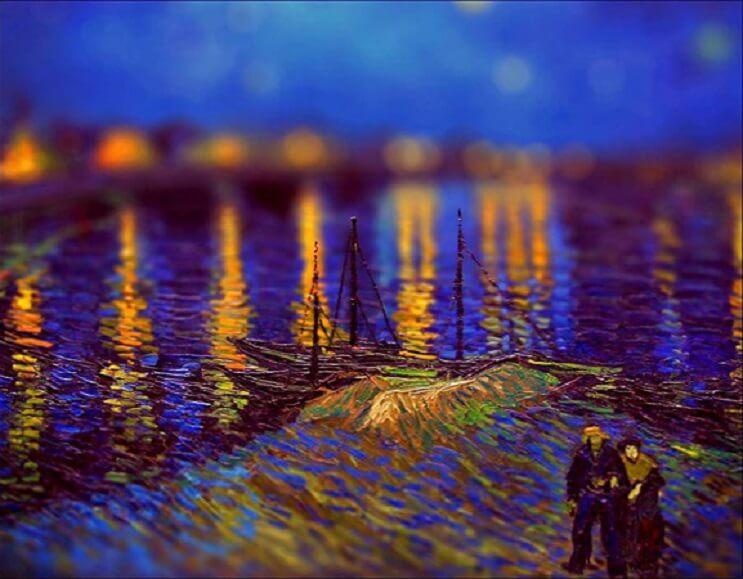 Photoshop ataca Aplican desenfoque a las obras de Van Gogh y el resultado es increíble 16
