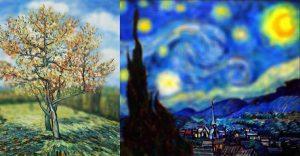 Aplican desenfoque a las obras de Van Gogh y el resultado es increíble