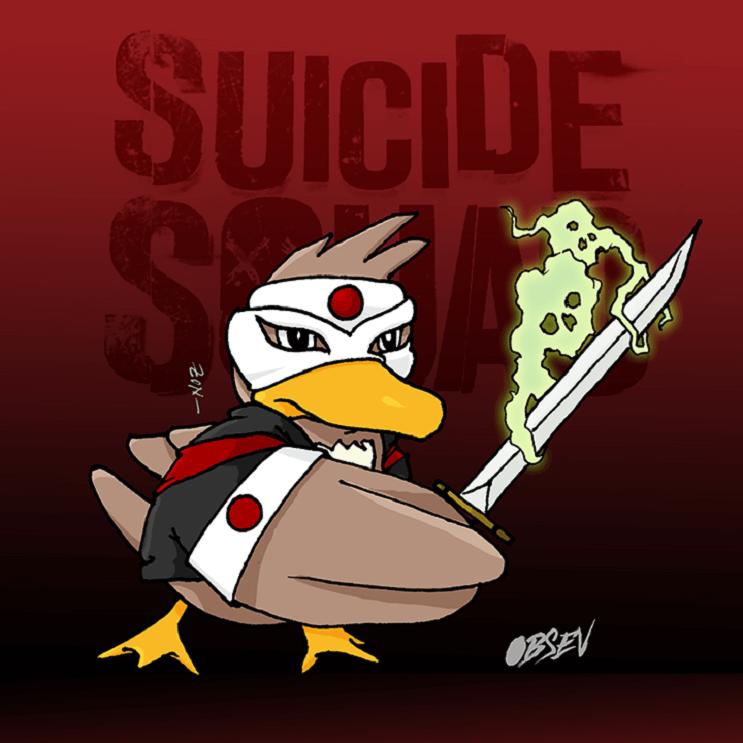 Pokémon y los Suicide Squad se unen en estas divertidas ilustraciones farfetched