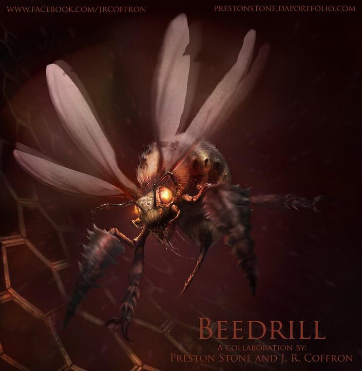 PokeMonstrosities Los terroríficos pokémones que no atraparás ni en tus peores pesadillas- Beedrill