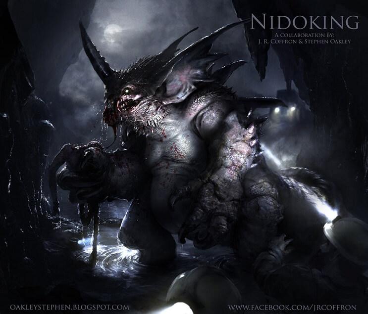 PokeMonstrosities Los terroríficos pokémones que no atraparás ni en tus peores pesadillas - Nidoking