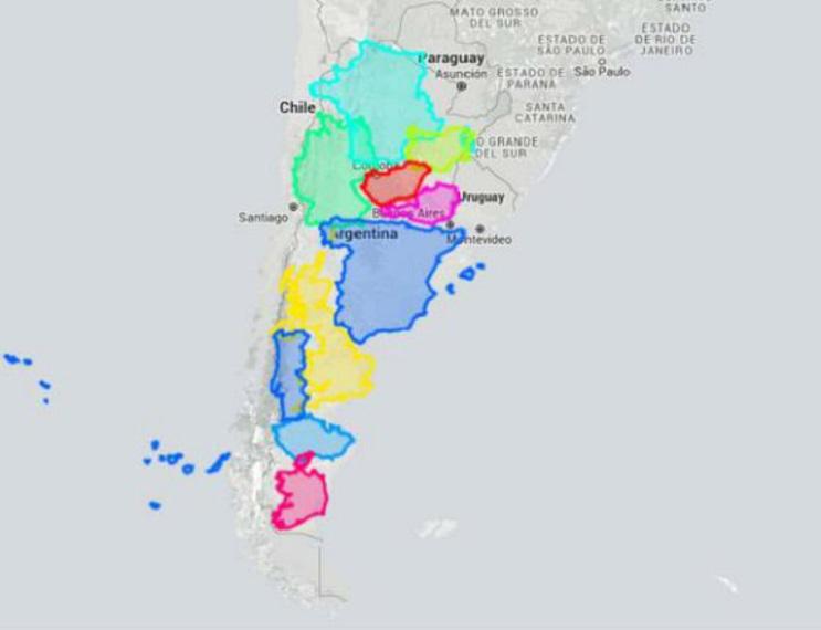 Quieres saber cuál es el tamaño real de tu país Este mapa interactivo te ayudará - Argentina