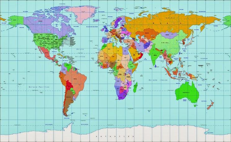 Quieres saber cuál es el tamaño real de tu país Este mapa interactivo te ayudará - mercator