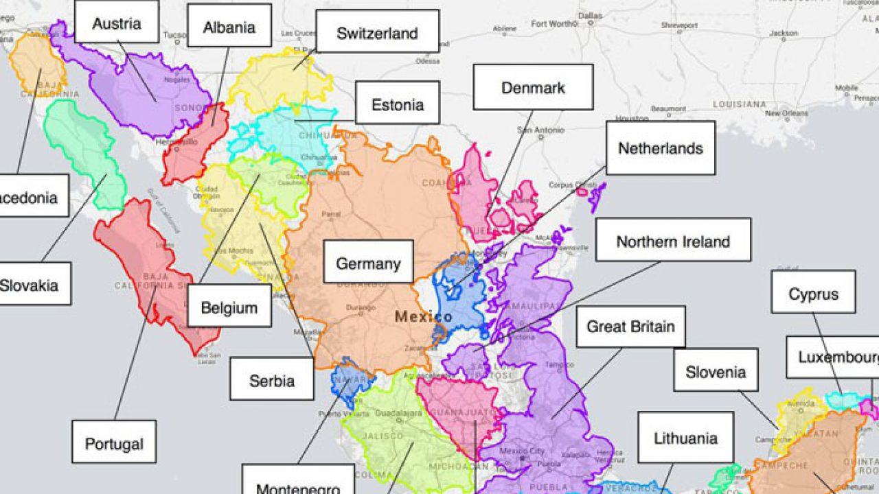 Quieres Saber Cuál Es El Tamaño Real De Tu País Este Mapa Interactivo Te Ayudará últimas Noticias De La Actualidad Noticias Virales Mott