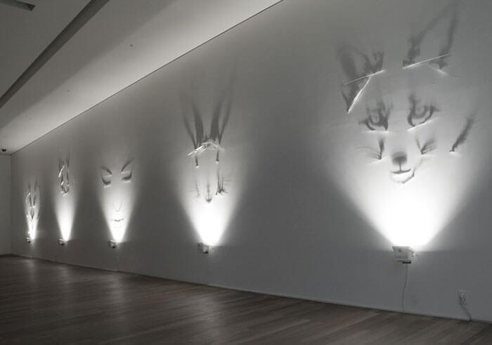 Sombras convertidas en arte de la manera genial 06