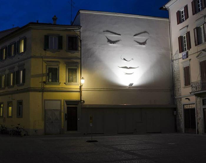 Sombras convertidas en arte de la manera genial 09