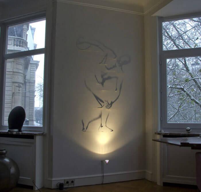Sombras convertidas en arte de la manera genial 12
