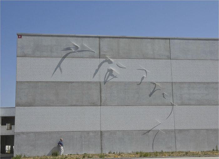 Sombras convertidas en arte de la manera genial 13