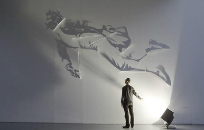 Sombras convertidas en arte de la manera genial 16
