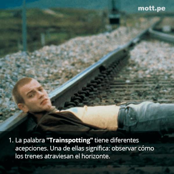 Tras su comentado regreso, datos de Trainspotting que tal vez desconocías 1