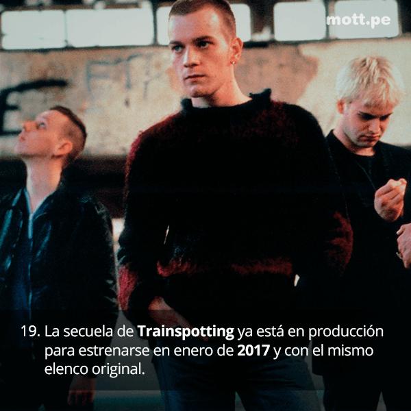 Tras su comentado regreso, datos de Trainspotting que tal vez desconocías 19