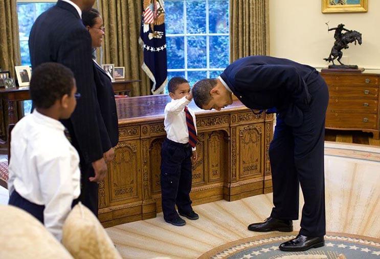 Una mirada más íntima a la vida del presidente Obama por el fotógrafo Pete Souza 1