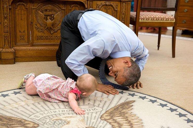 Una mirada más íntima a la vida del presidente Obama por el fotógrafo Pete Souza 14
