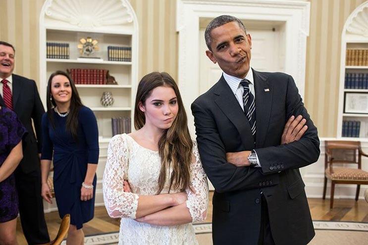 Una mirada más íntima a la vida del presidente Obama por el fotógrafo Pete Souza 16