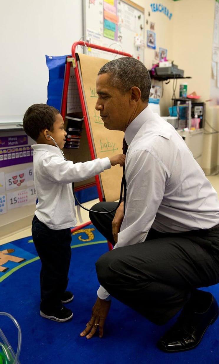 Una mirada más íntima a la vida del presidente Obama por el fotógrafo Pete Souza 21