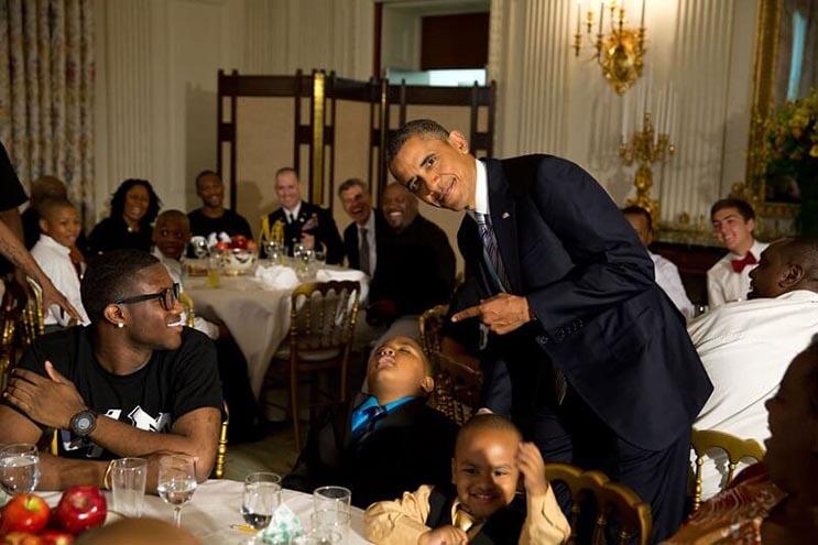 Una mirada más íntima a la vida del presidente Obama por el fotógrafo Pete Souza 22